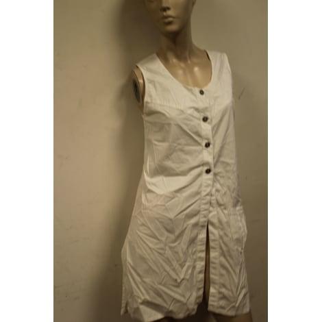 Robe mi-longue CANNISSE Blanc, blanc cassé, écru