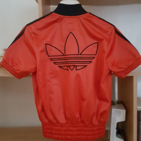 Veste ADIDAS Rouge, bordeaux