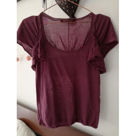 Top, tee-shirt COMPTOIR DES COTONNIERS Violet, mauve, lavande