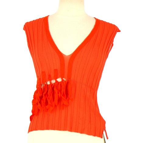 Top, tee-shirt PIERANTONIO GASPARI Orange