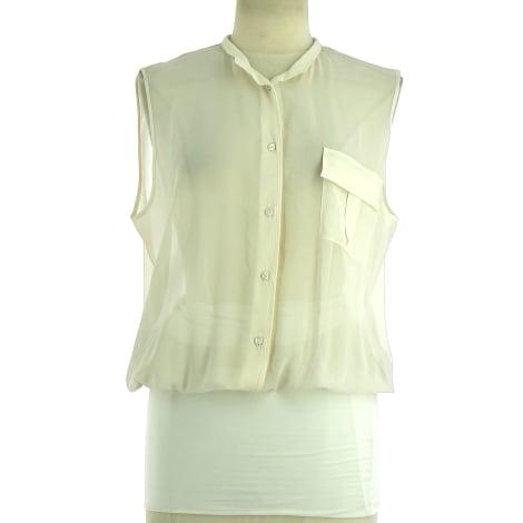 Top, tee-shirt PIERANTONIO GASPARI Blanc, blanc cassé, écru