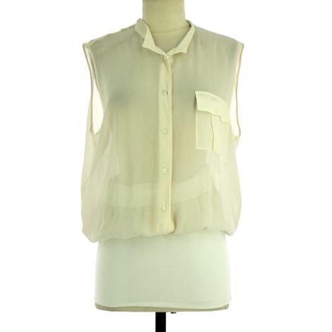 Robe mi-longue PIERANTONIO GASPARI Blanc, blanc cassé, écru