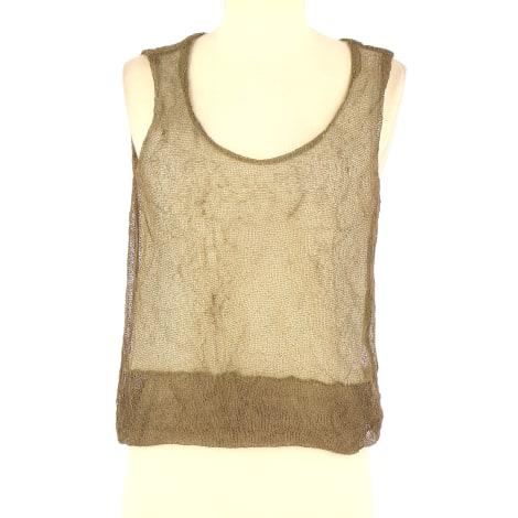 Top, tee-shirt PIERANTONIO GASPARI Beige, camel