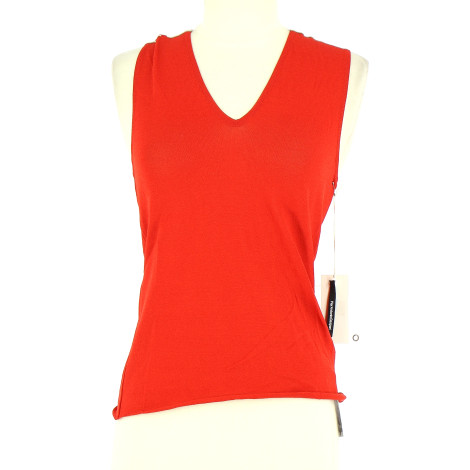 Top, tee-shirt PIERANTONIO GASPARI Orange