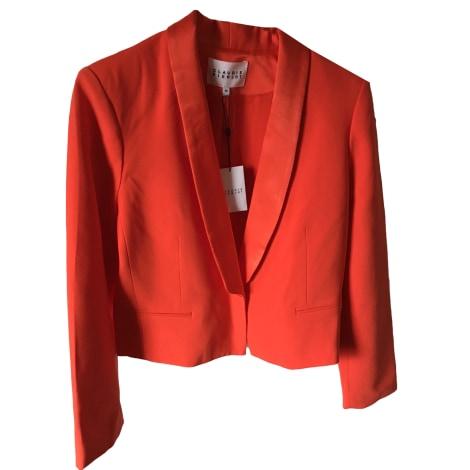 Blazer, veste tailleur CLAUDIE PIERLOT Orange