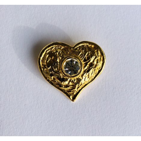 Broche EDOUARD RAMBAUD Doré, bronze, cuivre