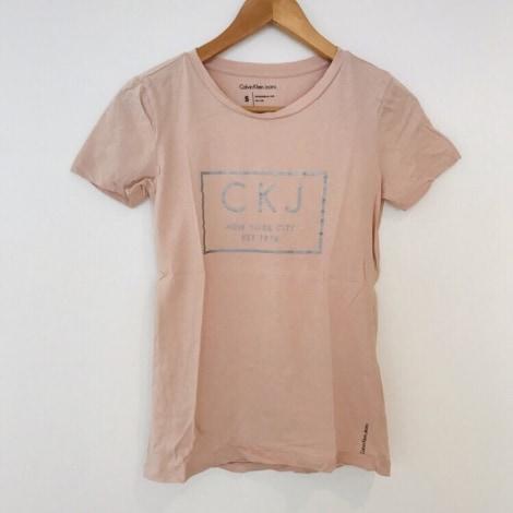 Top, tee-shirt CALVIN KLEIN Rose, fuschia, vieux rose