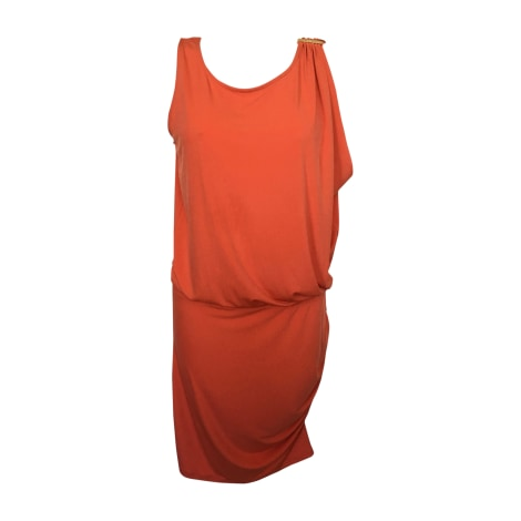 Robe mi-longue MICHAEL KORS Orange