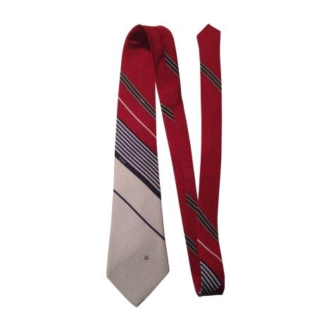 Cravate LANVIN Gris, anthracite