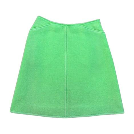 Jupe courte COURRÈGES Vert