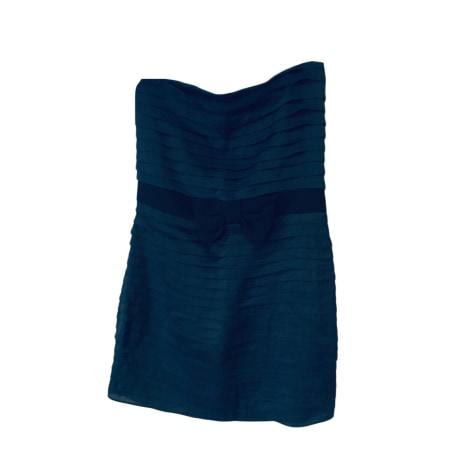 Robe bustier SANDRO Bleu, bleu marine, bleu turquoise