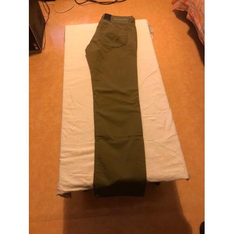Pantalon droit BALDESSARINI Kaki