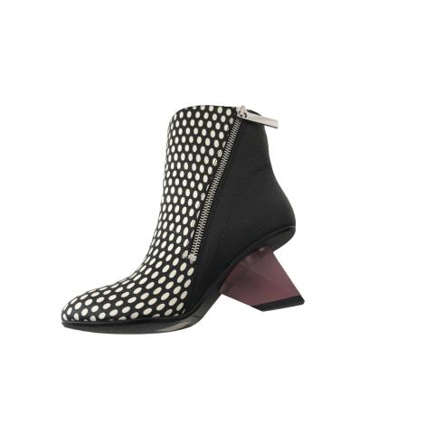 Bottines & low boots à talons UNITED NUDE Noir