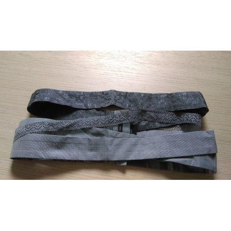 Ceinture large COP-COPINE Gris, anthracite