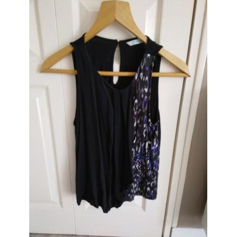 Top, tee-shirt DESIGUAL noire, bleue