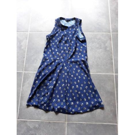 Robe mi-longue TARA JARMON Bleu, bleu marine, bleu turquoise
