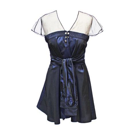Robe courte ALEXIS MABILLE Bleu, bleu marine, bleu turquoise