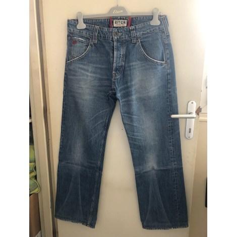 Jeans large TOMMY HILFIGER Bleu, bleu marine, bleu turquoise