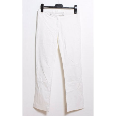 Pantalon droit CLAUDIE PIERLOT Blanc, blanc cassé, écru