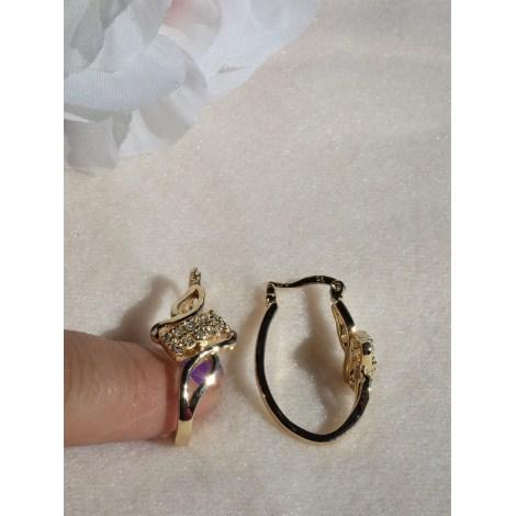 Boucles d'oreille FANTAISIE Doré, bronze, cuivre