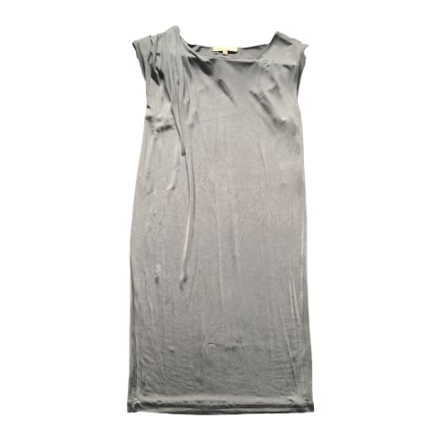 Robe mi-longue SANDRO Gris, anthracite