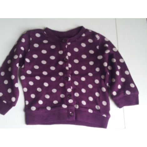 Gilet, cardigan H&M Violet, mauve, lavande