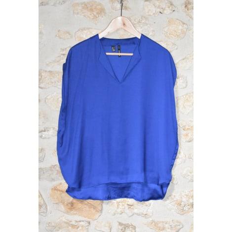 Blouse MANGO Bleu, bleu marine, bleu turquoise