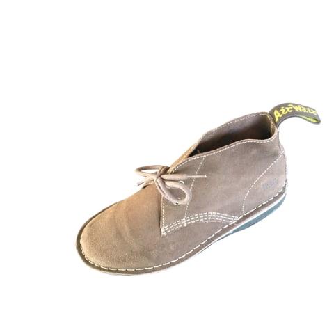 Chaussures à lacets  DR. MARTENS Marron