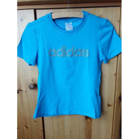 Top, tee-shirt ADIDAS Bleu, bleu marine, bleu turquoise