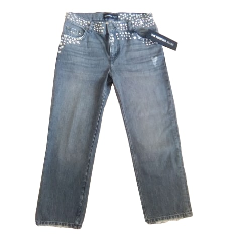 Jeans large, boyfriend THE KOOPLES Gris, anthracite