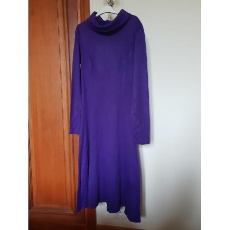 Robe mi-longue MARQUE INCONNUE Violet, mauve, lavande