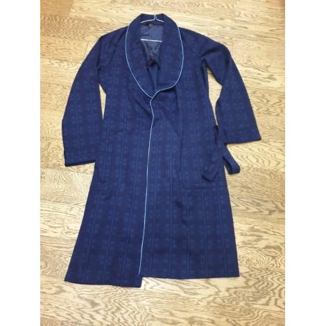 Robe de chambre PIERRE CARDIN Bleu, bleu marine, bleu turquoise