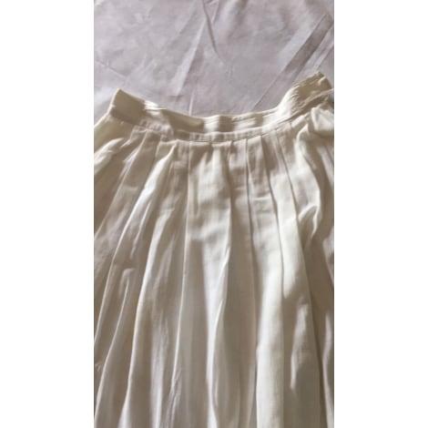 Jupe longue CACHAREL Blanc, blanc cassé, écru
