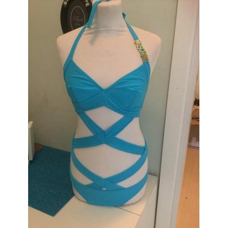 Maillot de bain une-pièce MOSCHINO Bleu, bleu marine, bleu turquoise