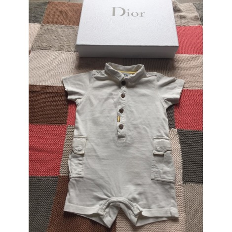 Shorts Set, Outfit BABY DIOR White, off-white, ecru
