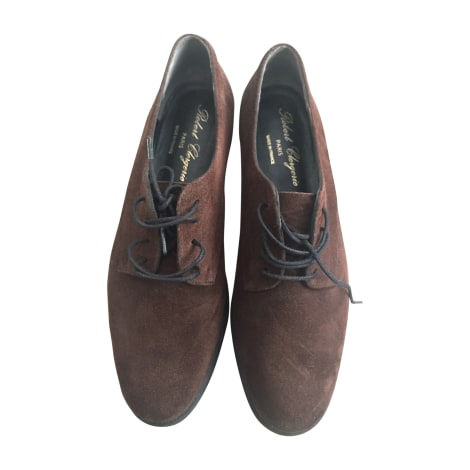 Chaussures à lacets  ROBERT CLERGERIE Marron