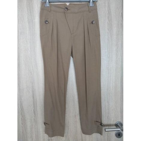 Pantalon carotte COMPTOIR DES COTONNIERS Marron