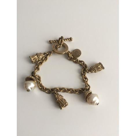 Bracelet JACQUES ESTEREL Doré, bronze, cuivre