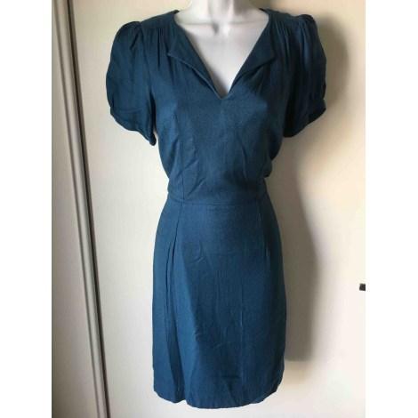Robe mi-longue NICE THINGS Bleu, bleu marine, bleu turquoise