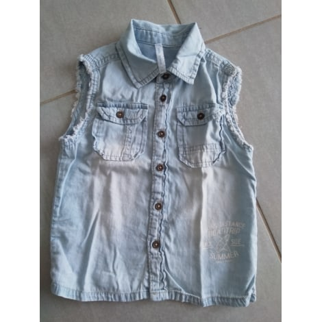 Short-sleeved Shirt GÉMO Blue, navy, turquoise