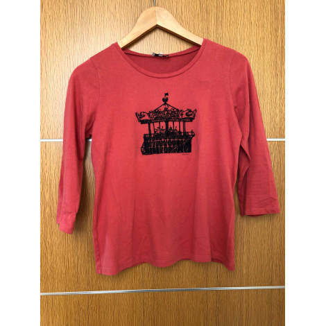 Top, tee-shirt CLAUDIE PIERLOT Rouge, bordeaux