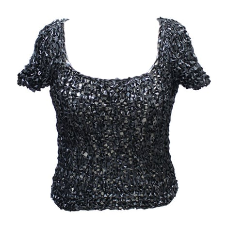Top, tee-shirt CHANEL Noir