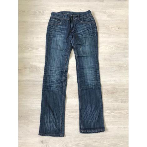 Jeans droit SINÉQUANONE Bleu, bleu marine, bleu turquoise