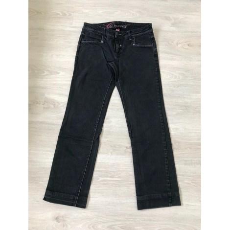Jeans évasé, boot-cut ESPRIT Noir