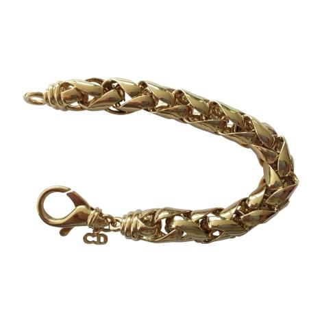 Bracelet DIOR Doré, bronze, cuivre