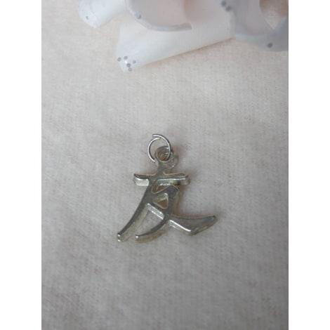 Pendentif, collier pendentif NO COLLECTION Argenté, acier