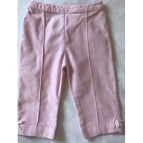 Pantalon LILI GAUFRETTE Rose, fuschia, vieux rose