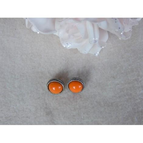 Boucles d'oreille FANTAISIE Orange