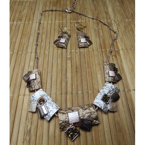 Parure bijoux IKITA Doré, bronze, cuivre