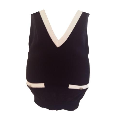 Top, tee-shirt CLUB MONACO Noir
